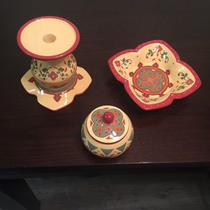 3 Piece PartyLite Set